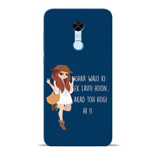 Ek Lauti Hoon Redmi Note 5 Mobile Cover