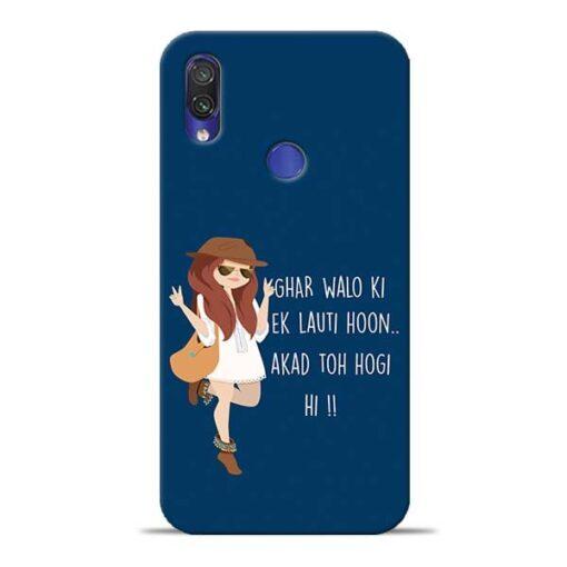 Ek Lauti Hoon Redmi Note 7 Pro Mobile Cover