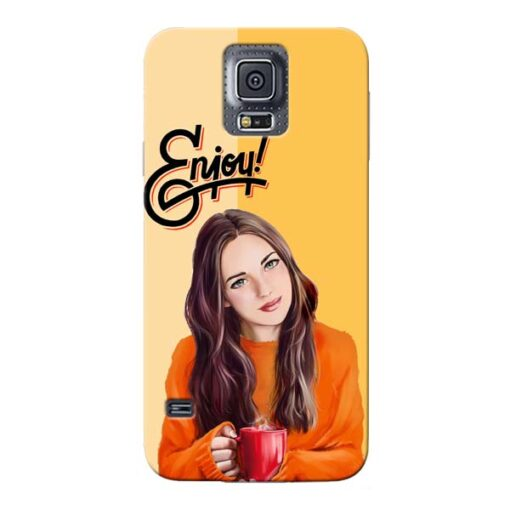 Enjoy Life Samsung Galaxy S5 Mobile Cover