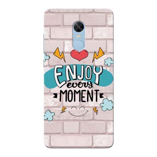 Enjoy Moment Xiaomi Redmi Note 4 Mobile Cover