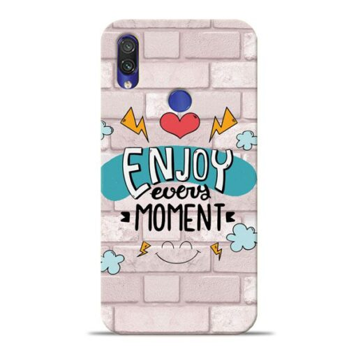 Enjoy Moment Xiaomi Redmi Note 7 Pro Mobile Cover