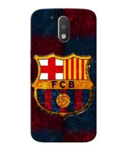 FC Barcelona Moto G4 Mobile Cover