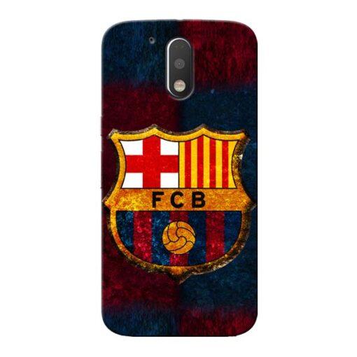 FC Barcelona Moto G4 Plus Mobile Cover