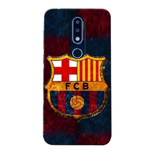 FC Barcelona Nokia 6.1 Plus Mobile Cover