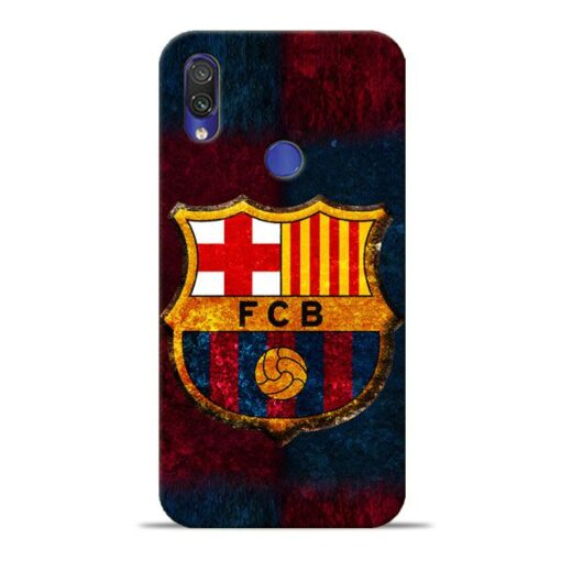 FC Barcelona Xiaomi Redmi Note 7 Pro Mobile Cover