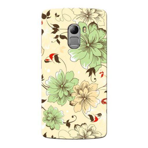 Floral Design Lenovo Vibe K4 Note Mobile Cover