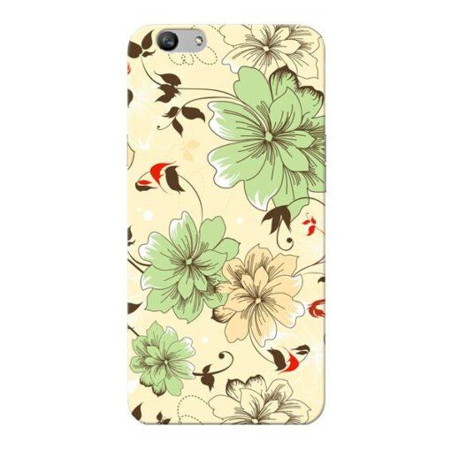 Floral Design Oppo F1s Mobile Cover
