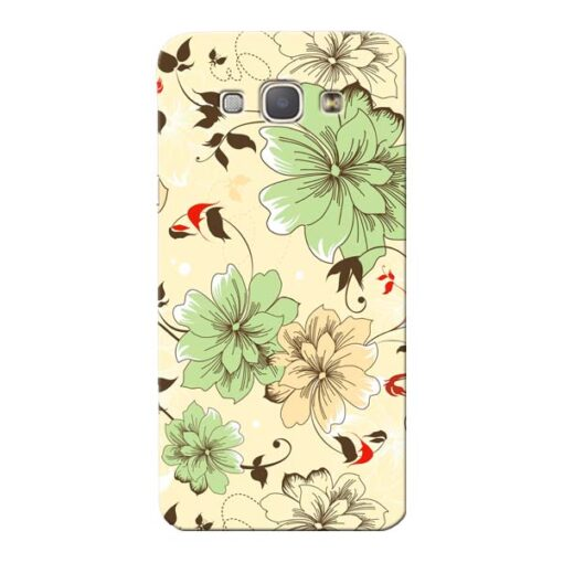 Floral Design Samsung Galaxy A8 2015 Mobile Cover