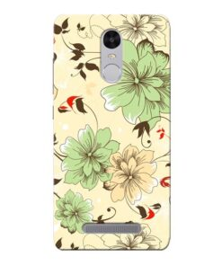 Floral Design Xiaomi Redmi Note 3 Mobile Cover