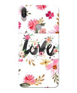Flower Love Asus Zenfone Max Pro M1 Mobile Cover