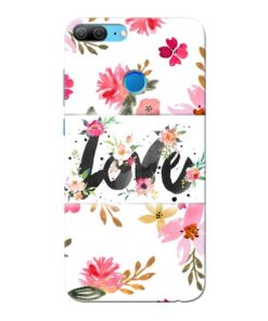 Flower Love Honor 9 Lite Mobile Cover
