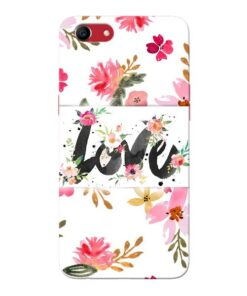 Flower Love Oppo A83 Mobile Cover