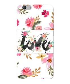 Flower Love Oppo F1s Mobile Cover