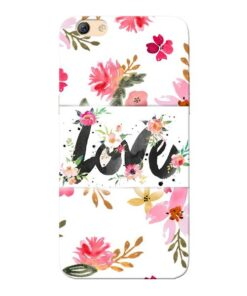 Flower Love Oppo F3 Mobile Cover