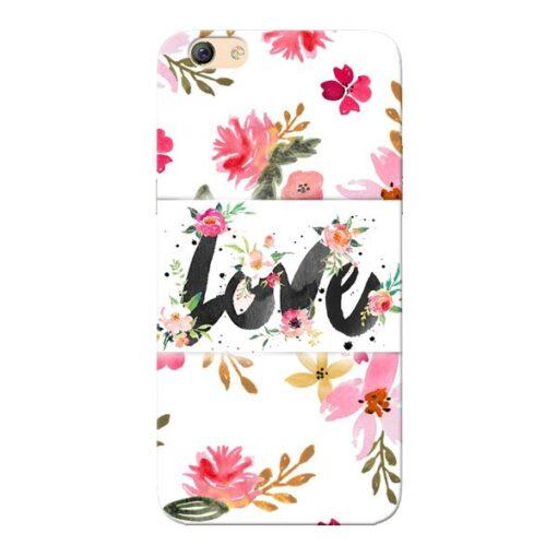 Flower Love Oppo F3 Mobile Cover