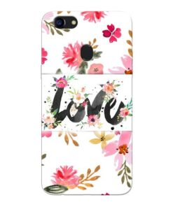 Flower Love Oppo F5 Mobile Cover