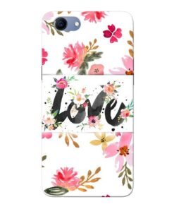 Flower Love Oppo Realme 1 Mobile Cover