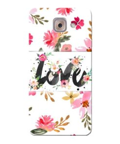 Flower Love Samsung Galaxy J7 Max Mobile Cover