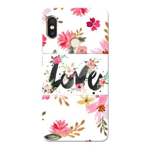 Flower Love Xiaomi Redmi Note 5 Pro Mobile Cover