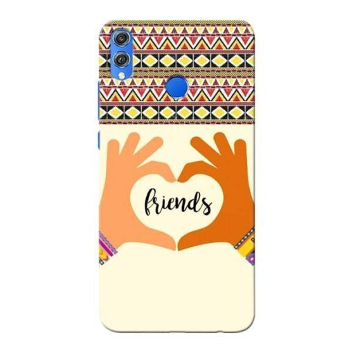 Friendship Honor 8X Mobile Cover