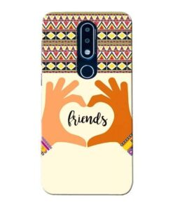 Friendship Nokia 6.1 Plus Mobile Cover