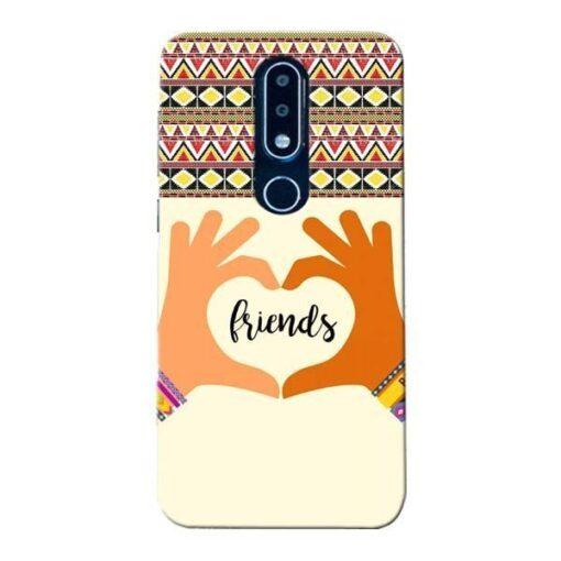 Friendship Nokia 6.1 Plus Mobile Cover