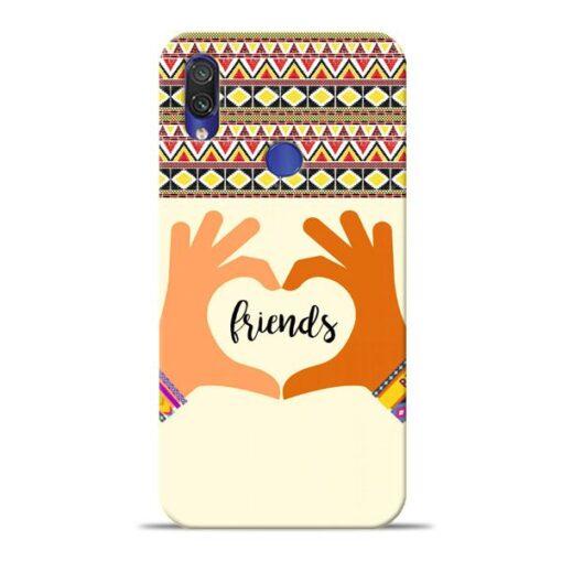 Friendship Xiaomi Redmi Note 7 Pro Mobile Cover