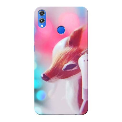 Funky Dear Honor 8X Mobile Cover