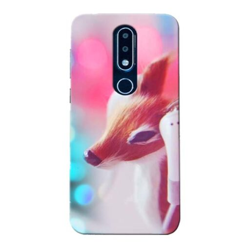 Funky Dear Nokia 6.1 Plus Mobile Cover
