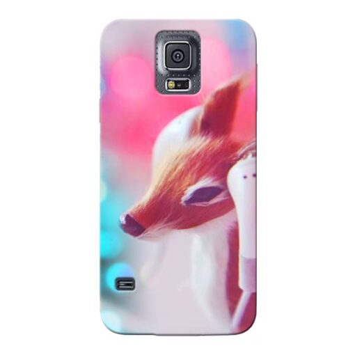 Funky Dear Samsung Galaxy S5 Mobile Cover