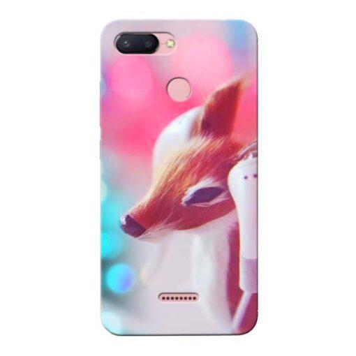 Funky Dear Xiaomi Redmi 6 Mobile Cover