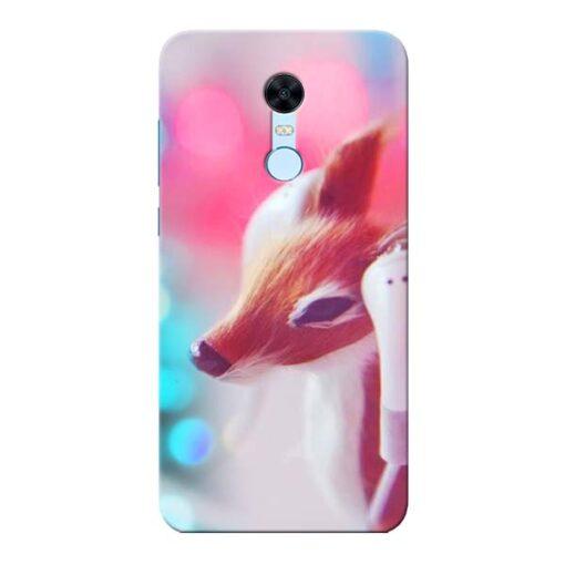 Funky Dear Xiaomi Redmi Note 5 Mobile Cover