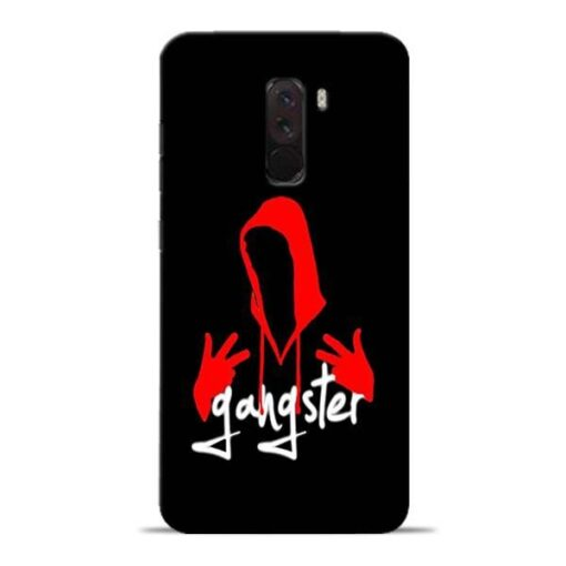 Gangster Hand Signs Poco F1 Mobile Cover