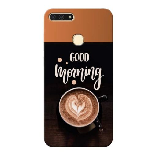 Good Morning Honor 7A Mobile Cover