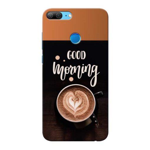 Good Morning Honor 9 Lite Mobile Cover