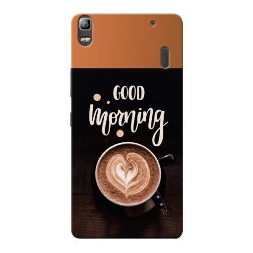 Good Morning Lenovo K3 Note Mobile Cover