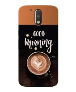 Good Morning Moto G4 Mobile Cover