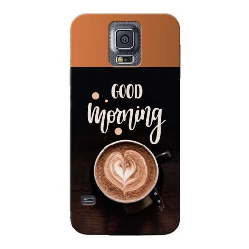 Good Morning Samsung Galaxy S5 Mobile Cover
