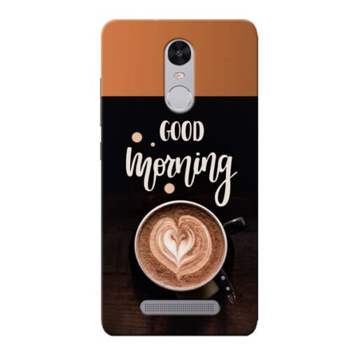 Good Morning Xiaomi Redmi Note 3 Mobile Cover