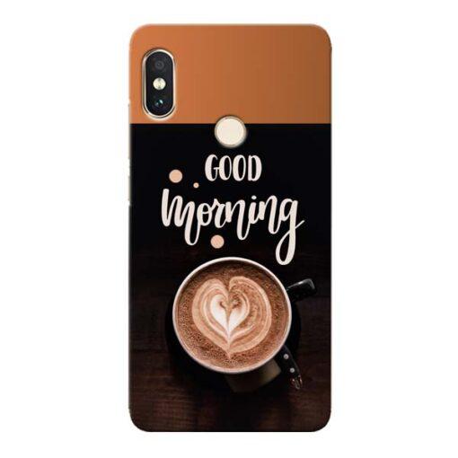 Good Morning Xiaomi Redmi Note 5 Pro Mobile Cover