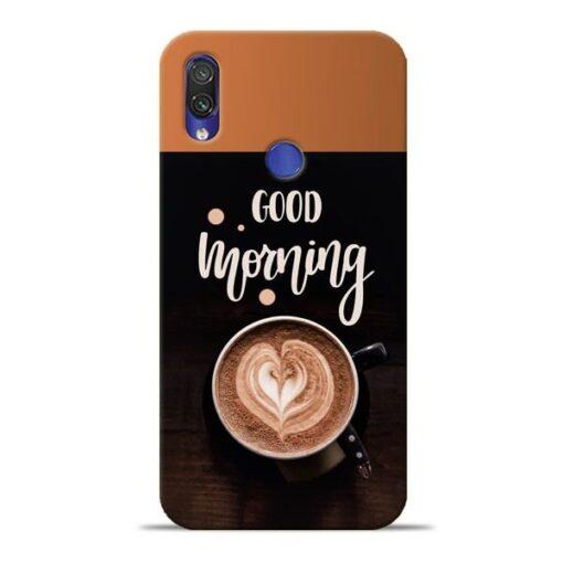 Good Morning Xiaomi Redmi Note 7 Mobile Cover