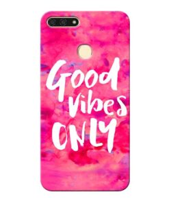 Good Vibes Honor 7A Mobile Cover