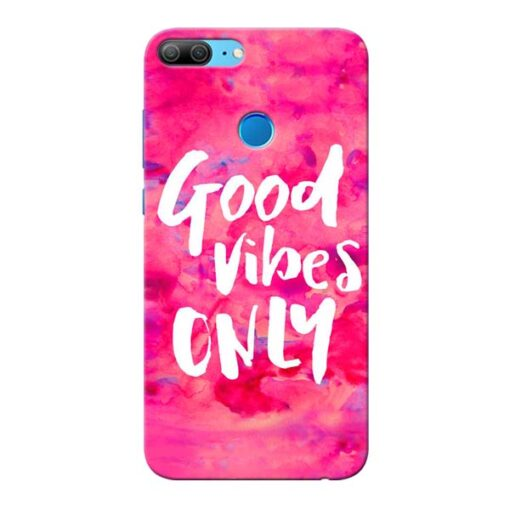 Good Vibes Honor 9 Lite Mobile Cover