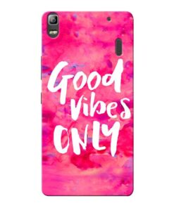 Good Vibes Lenovo K3 Note Mobile Cover