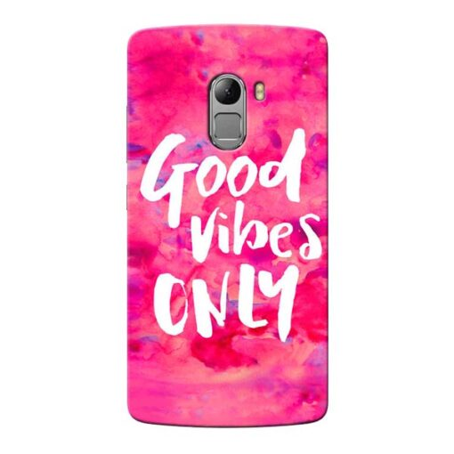 Good Vibes Lenovo Vibe K4 Note Mobile Cover