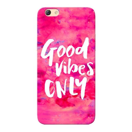 Good Vibes Oppo F3 Mobile Cover