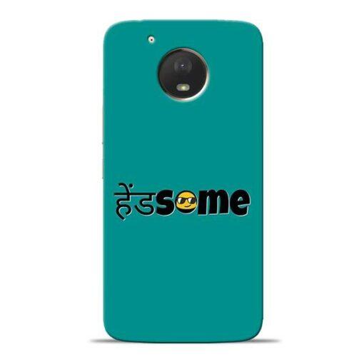 Handsome Smile Moto E4 Plus Mobile Cover
