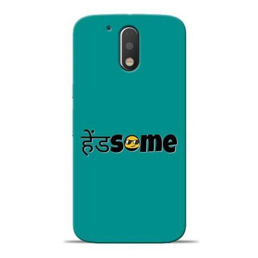 Handsome Smile Moto G4 Mobile Cover