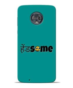Handsome Smile Moto G6 Mobile Cover