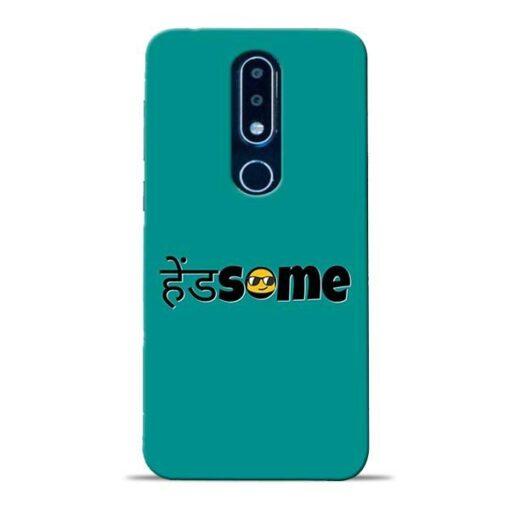 Handsome Smile Nokia 6.1 Plus Mobile Cover